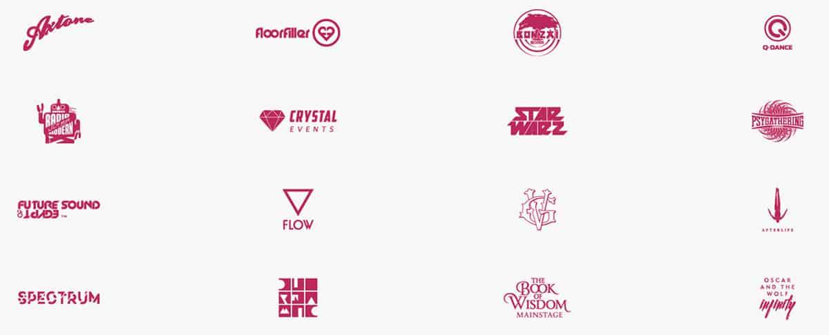 Tomorrowland lineup 2019 scener lördag-vecka-2