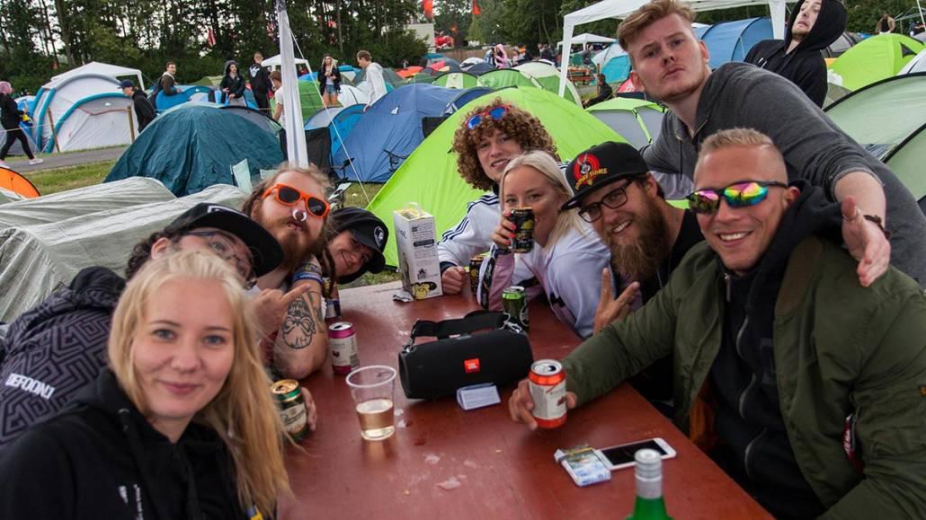 Coretours camp Defqon1