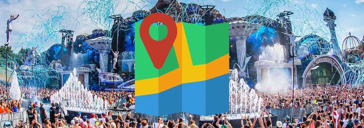 Hvor er Tomorrowland