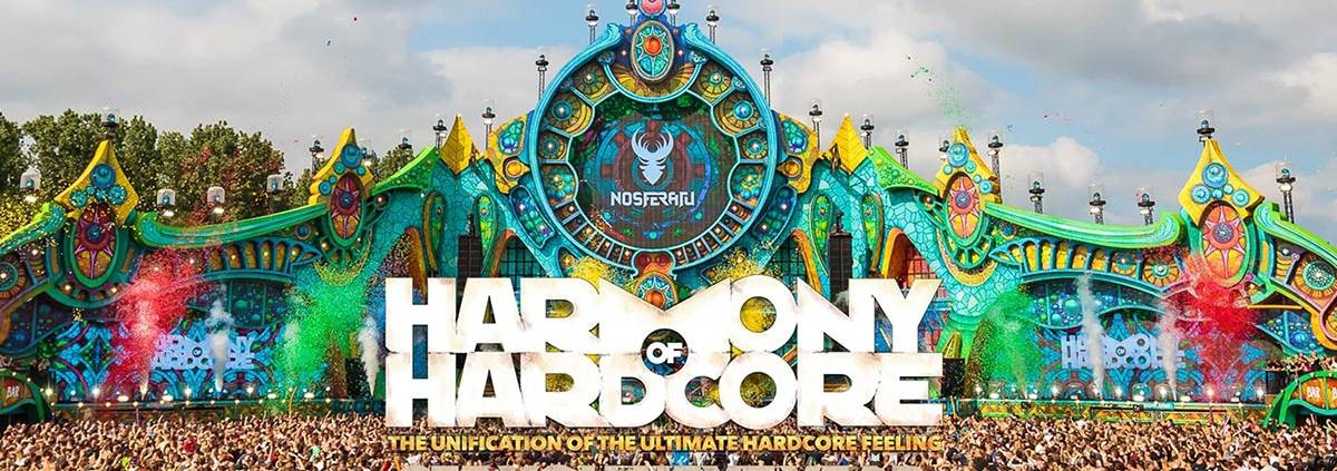 Harmony of Hardcore 2019 Lineup