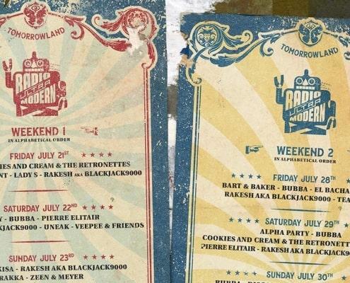 Tomorrowland Lineup