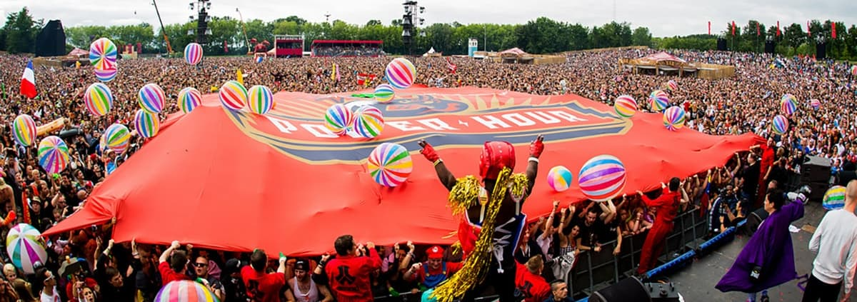 Defqon1 Power Hour flagga