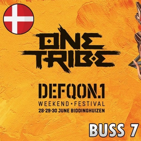 Defqon1 Weekend Festival 2019 Bus 7 Dania