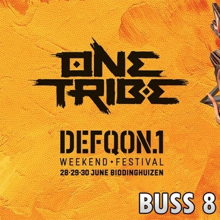 Defqon1 Weekend Festival 2019 Bus 8