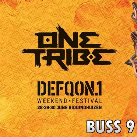 Defqon1 Weekend Festival 2019 Buss 9