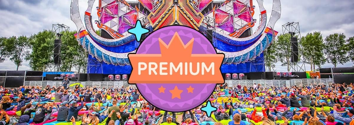 What does Premium ticket at Defqon 1 mean? | Core Tours