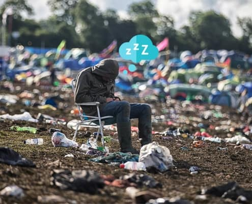 Hvordan gjenopprette fra en musikkfestival?