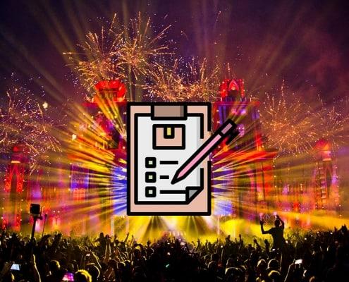 Hvad skal man pakke til en elektronisk musikfestival