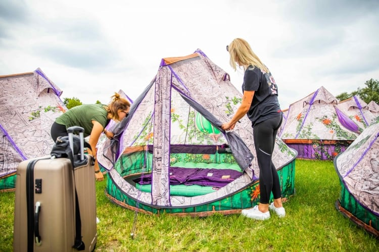 Easy Tent Tomorrowland 2020