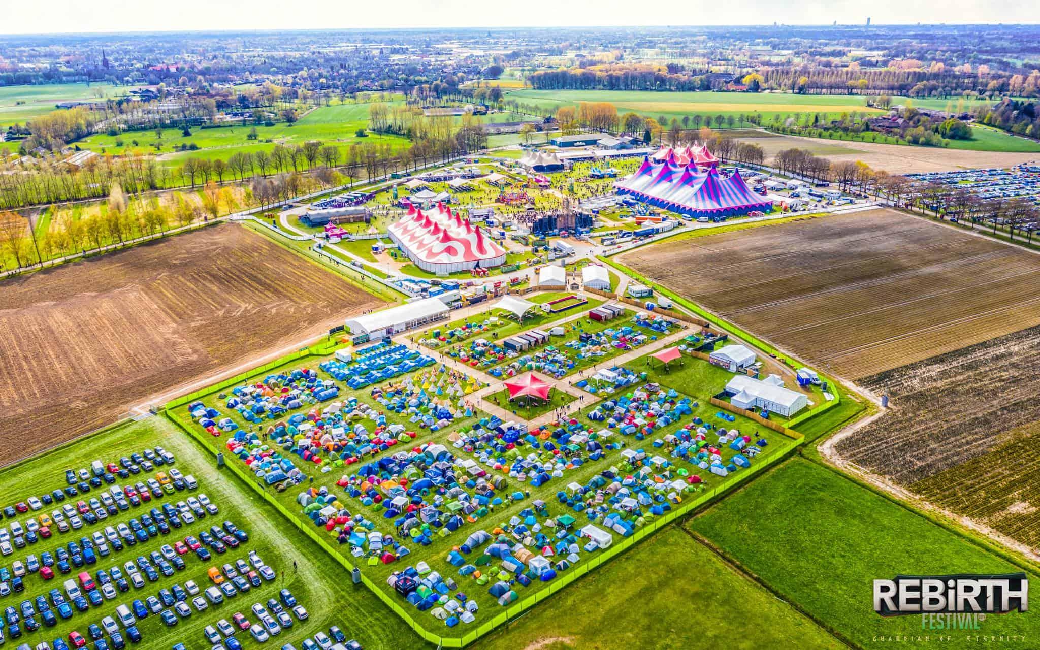 Rebirth Festival Camping
