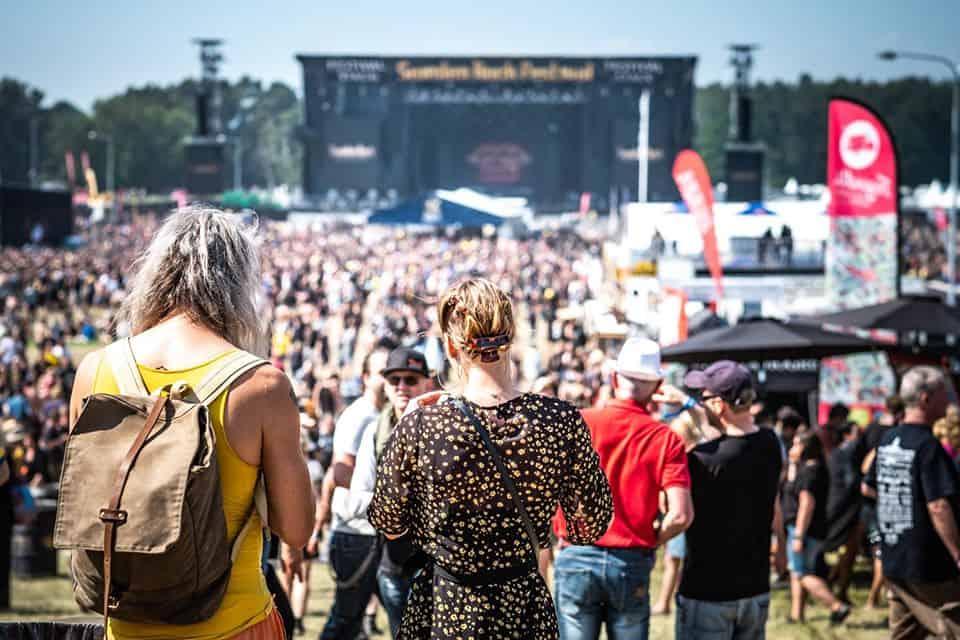Publik på Sweden Rock Festival