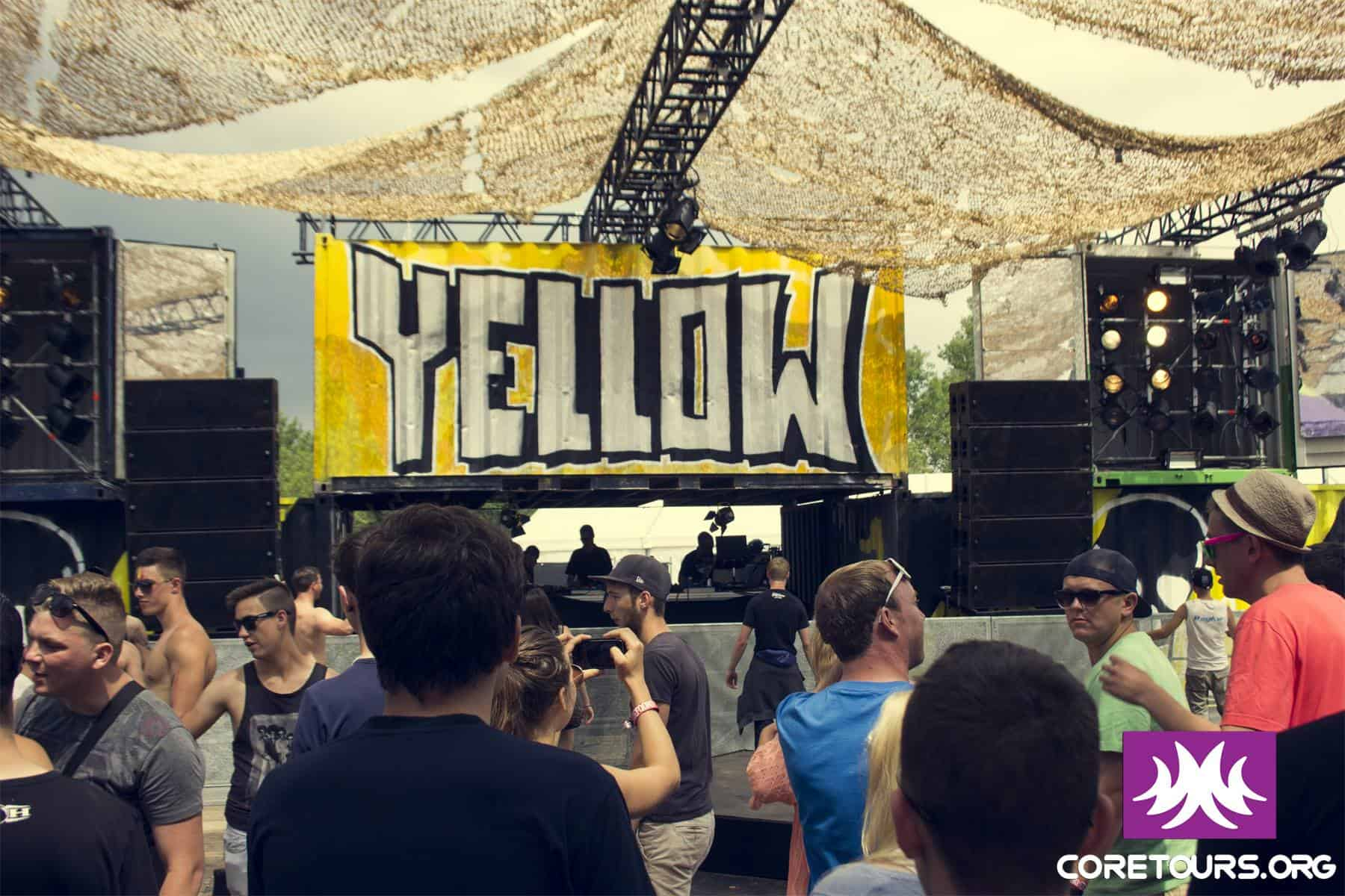 Yellow stage at Defqon 2014